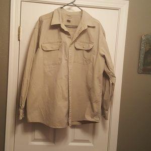 LL Bean - Men's long sleeve dress shirt